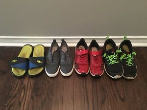 Assorted boys shoes sizes 2 - 5