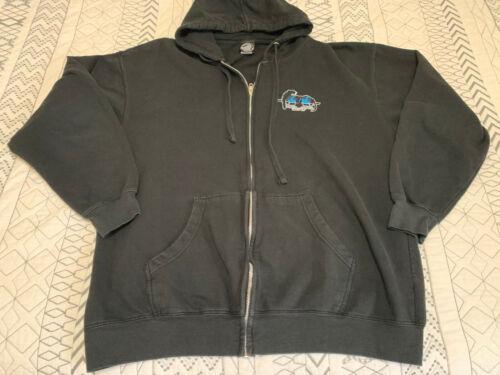 SMA Santa Cruz Natas Zip-up Hoodie Used Worn XL