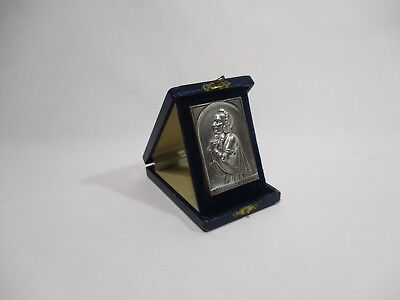 SAINTE MARY OF THE PROVIDENCE MEDAL PLATE RELIGIOUS BOX CHRISTIANITY