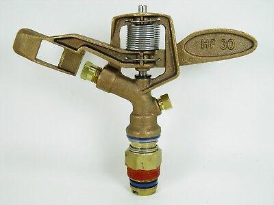 10 Aqua Burst Hf-30 34 Heavy Duty Brass Impact Sprinkler Replace Rain Bird 30h