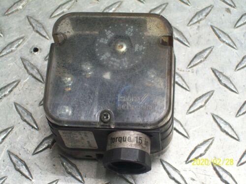 KROM SCHRODER DG150T AIR / GAS PRESSURE SWITCH 84447832