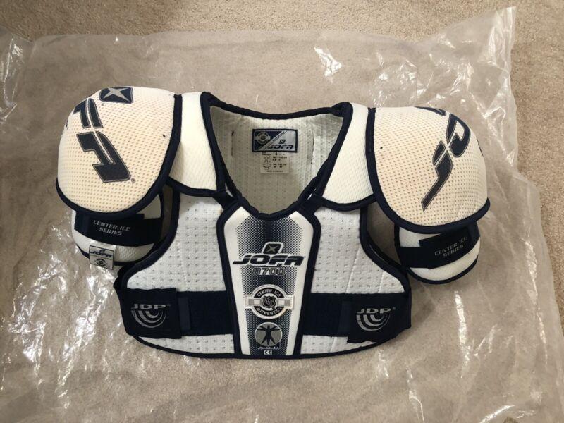 Rare* Jofa 8700 Pro Stock Shoulder Pads SWEDEN  NHL Medium Reebok RBK Ccm Hockey