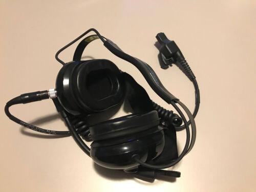 Motorola BDN6645A Heavy Duty Noise Cancelling PTT Headset for XTS2500 / XTS5000