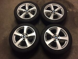 """2005 BMW 3 Series 17"""" Rims and Tires AMAZING CONDITION"""