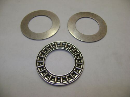 "NTA1220 THRUST NEEDLE ROLLER BEARING W/ TWO WASHERS 3/4"" X 1-1/4"" X 5/64"" BAB217"