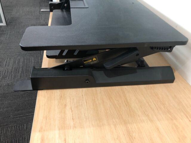 Adjustable Height Stand Up Workstation Riser Desks