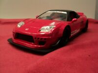 2002 Honda NSX Type-R Japan Spec JDM Tuners Wide Rot Red 1:24 Jada Toys 99068