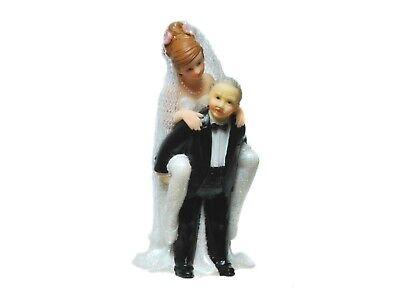 Figur zur Hochzeit Brautpaar Cake Topper Dekoration Tortenfigur Geldgeschenk