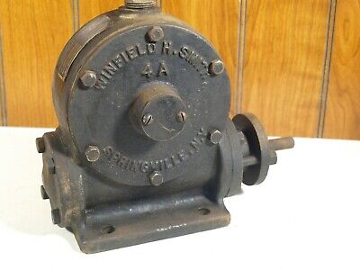 Vintage Cast Iron Winfield H. Smith 4a Speed Reducing Gear