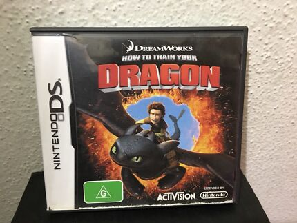 DS How To Train Your Dragon Game
