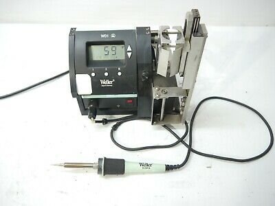 Weller Wd1 Soldering Station W Power Unit Iron Stand And Power Cord