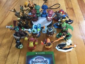 Skylanders Imaginators game, portal, and 13 figures