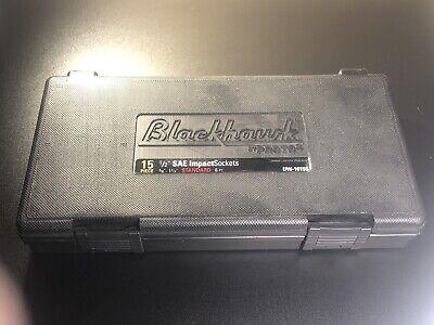 Blackhawk Proto Uw-1615s 6-point Drive Impact Socket Set 12-inch 15-piece