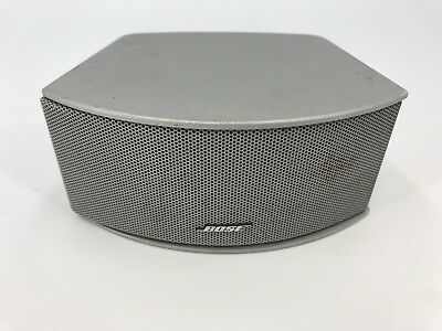 Bose Lifestyle Horizontal Center Channel Double Cube Speaker Silver #ODm3