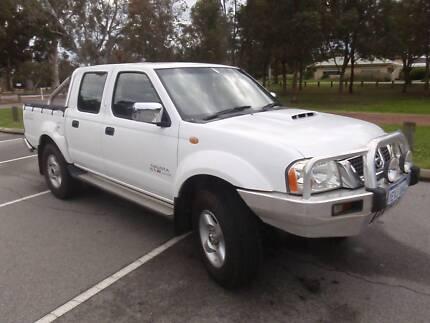 2009 Nissan Navara D22 ST-R Turbo Diesel Dual Cab Ute Beaconsfield Fremantle Area Preview
