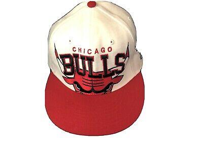 1990s Chicago Bulls Snapback Hat Vintage Hardwood Classics 47 Brand