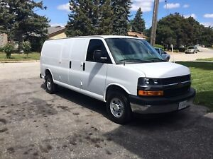 2017 Chevrolet express extended