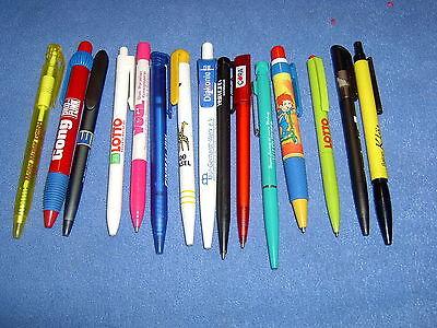 15 x  Werbe- Kugelschreiber - Kugelschreiber mit Werbung