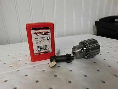 """57mm Sle... Tapered Mount Drill Chuck Keyed 1//32 to 5//8/"""" Capacity Accupro JT6"""