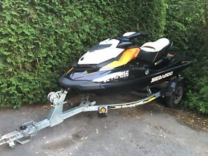Sea Doo Orange 2014 GTR  215 36EC + Remorque/trailer ( Négo )