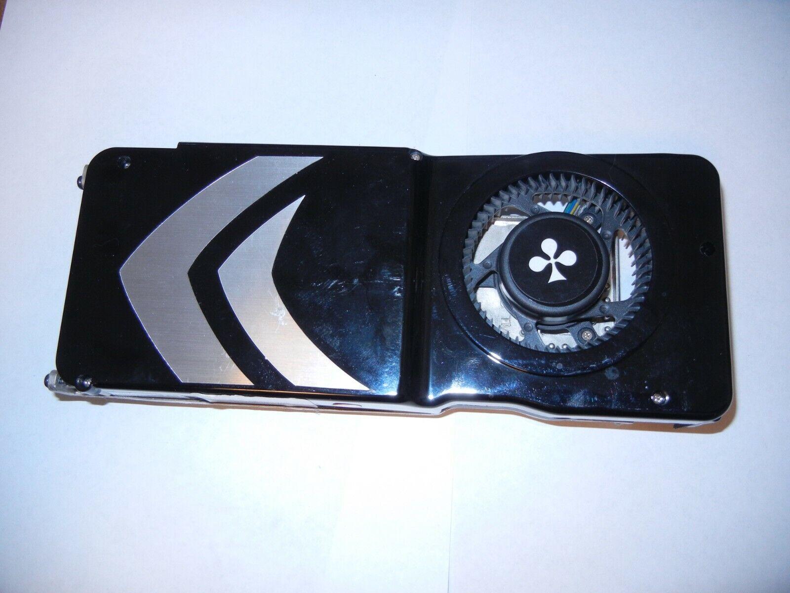 Kühlkörper für eine GeForce 8800 GTS Grafikkarte mit nur einem Stromanschluss