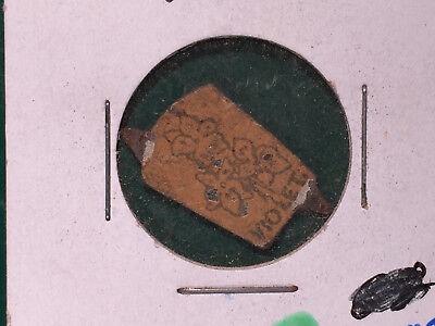 Vintage Violet Tobacco Tag