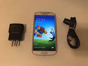 Samsung Galaxy S4/Great condition/Unlocked+accessories
