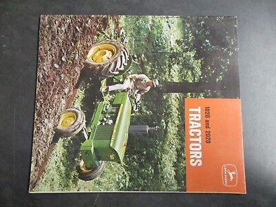 John Deere 1020 2020 Tractors Literature