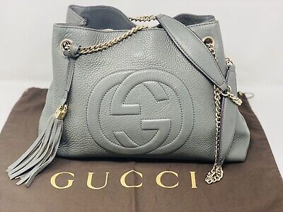 Stunning Large Gucci Soho Bag With Dustbag