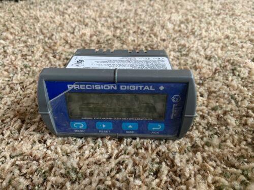 Precision Digital - Loop-Powered Flow Rate/Totalizer Digital Panel Meter