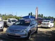 2002 Honda Civic Vi 5door Hatch 1.7 4cyl Auto Very Tidy Car Orange Area Preview