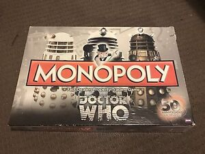 50th anniversary collectors edition doctor who monopoly Kedron Brisbane North East Preview