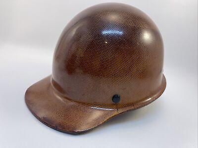 Medium Natural Tan Skullgard Hard Hat With Fas-trac Suspension New