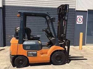 Toyota 1.8T LPG Used Forklift for Sale  32-FI825 Laverton North Wyndham Area Preview