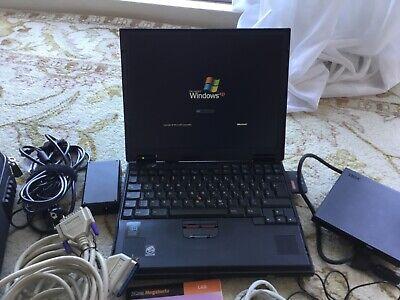 IBM Thinkpad 600 Typ 2645-850 30GB 416 MB RAM, 298MHZ Pentium II