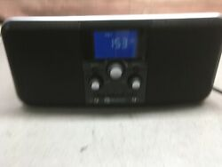 Boston Acoustics duo-i plus ipod iphone dock Am/ Fm stereo radio clock aux