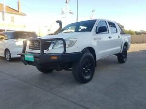 2012 TOYOTA HILUX KUN26R MANUAL DIESEL TURBO 3.0L DRIVES GOOD Victoria Park Victoria Park Area Preview