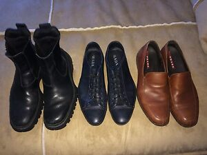 Prada shoes/ Boots 12- 12.5 mint condition