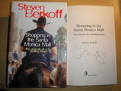 STEVEN BERKOFF - SHOPPING IN THE SANTA MONICA MALL  1st/1st  HB/DJ  2000  (Shopping Mall Santa Monica)