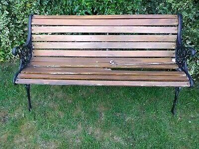 Cast iron Garden Bench Local delivery available