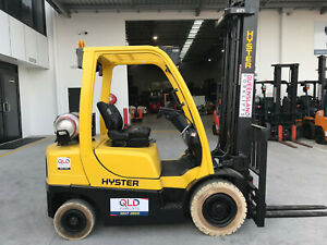 Hyster 2.5 Ton Forklift Fully Repainted with Side Shift and Fork Positioner Luscombe Gold Coast North Preview