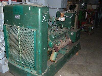 International Harvester Mod. 549 V-8 75kw Generator Natural Gas Fueled