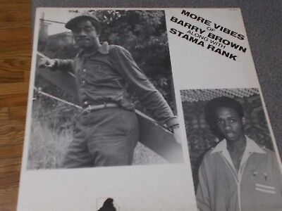 Barry Brown & Stama Rank More Vibes Of Barry Brown reggae LP King Culture