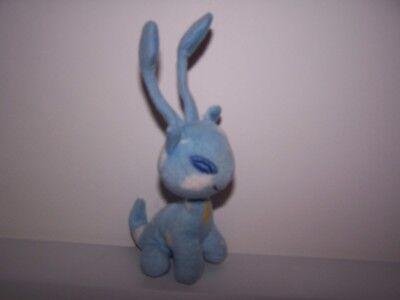 """2004 Neopets Plush Blue Aisha Mcdonalds Animal Toy 6.5"""""""