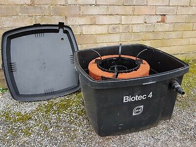 Pond filter Biotech 4 used condition