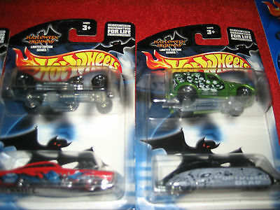 Hot wheels Halloween highway high way Living Dead four different cars lot 2 rare (Toy Room Halloween)
