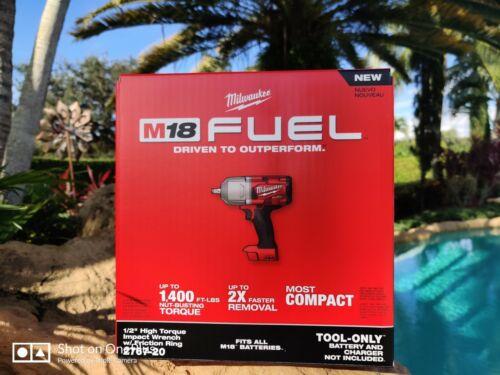 """Milwaukee 2767-20 M18 FUEL 1/2"""" Drive Impact Wrench Gun """"BONUS"""""""