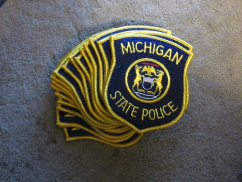 Michigan State Police Police Emblem