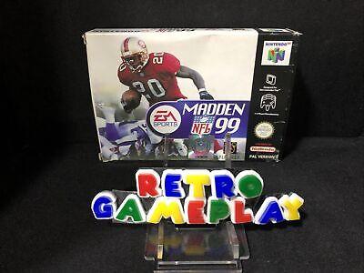 Jeu Nintendo 64 N64 PAL EUR Madden NFL 99