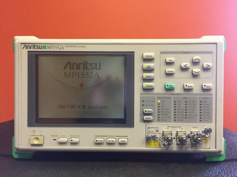 Anristu MP1552A / MP0121A / MP0122A / MP0126A, SDH / PDH / ATM Analyzer